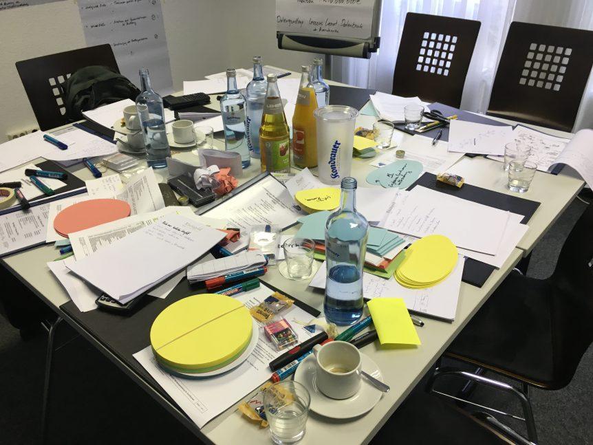 So sieht es oft in einem Zertifizierungs-Workshop aus! :-))